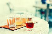 Bier-flug — Stockfoto