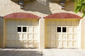 Two  garages — Stock Photo