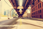 Chicago Bridge — Stock Photo