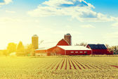 Traditional American Farm — Stock Photo