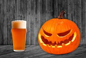 Pumpkin Ale — Stock Photo