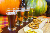 Beer Flight — Foto de Stock