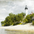 Old Picture (Effect) With Lighthouse — Stock Photo #6680982