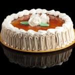 San marcos cake, isolated on black — Stock Photo #16494043