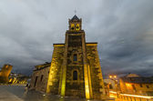San Andres church, near to the castle in Ponferrada — Stock Photo