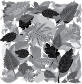 A seamless leaf pattern — Stock Vector