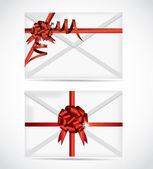 Set di illustrazione di carta regalo — Vettoriale Stock