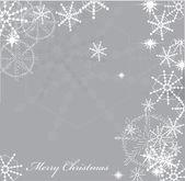Snowflakes background — Stock Vector