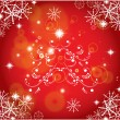 Christmas background vector — Stock Vector