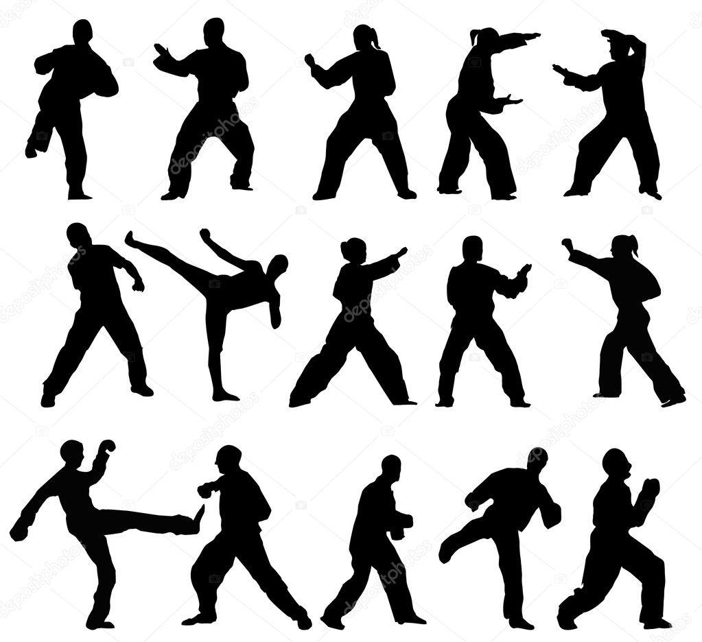 跆拳道logo设计素材
