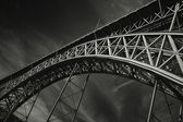 Dom Luis Bridge Porto — Stock Photo