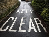 Keep Clear — Photo