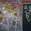 Graffiti Montmartre Paris — Stock Photo
