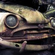 Abandoned automobile - Stock Photo