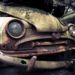 Stock Photo: Abandoned automobile