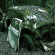 Stock Photo: Scrapped cars
