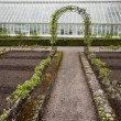Stock Photo: Greenhouse at spring