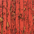 Stock Photo: Red peeling paint