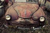 Abandoned automobile — Stock Photo