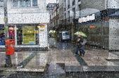 Está lloviendo — Foto de Stock