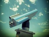 Retro teleskop — Stockfoto