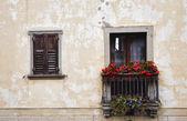 Tiny Italian balcony — Stock Photo