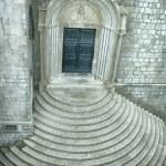Church with circular steps — Stock Photo #23784717