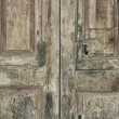Old Italian door - Stock Photo
