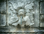 Antique water fountain — Stock Photo