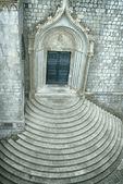 Chiesa con passaggi circolari — Foto Stock
