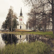 Beautifyl church scenery - Stock Photo