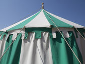 Medieval tent detail — Stock Photo
