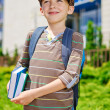 Young kid dreaming about school — Stockfoto #27216023