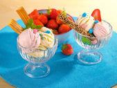 Savoureuse crème glacée — Photo