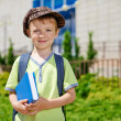My first day in school. — Stock Photo #27652507