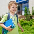 My first day in school — Stock Photo