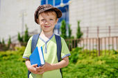 My first day in school. — Stock Photo