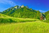 Üç kron massif pieniny Dağları — Stok fotoğraf