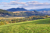 The Pieniny Mountains landscape, Carpathians. — Stock Photo