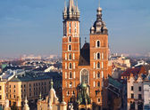 St. Mary's church in Krakow — Photo