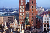 St. Mary's church in Krakow — ストック写真