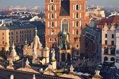 クラクフの聖マリア教会 — ストック写真