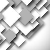 Svarta och vita fyrkantiga tom bakgrund - tom quadrat vektor d — Stockvektor