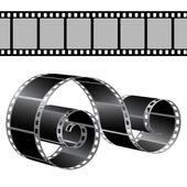 Plantilla de vector de tira de película — Stok Vektör