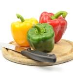 Fresh colorful paprika — Stock Photo