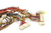 Computer connection wires — Stock Photo