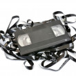 Old vhs video cassette — Stock Photo #28282493