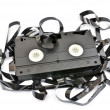 Old vhs video cassette — Stock Photo