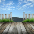 Stock Photo: Terrace
