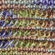 Colorful yarn weave — Stock Photo
